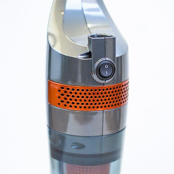 Aspirador Turbo Vertical Ciclónico Delta Dual Power Max Kizoomba AH-CK21050 2
