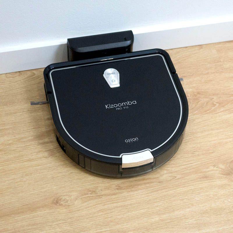 Robot Aspirador Inteligente Ultacompracto Kizoomba Pro910 10