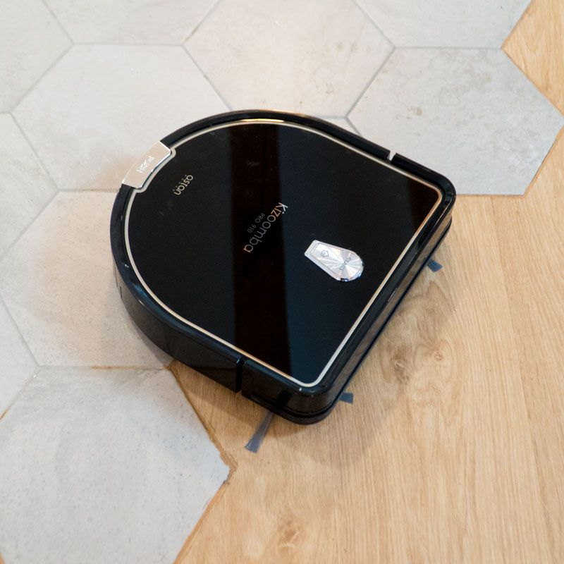 Robot Aspirador Inteligente Ultacompracto Kizoomba Pro910 12