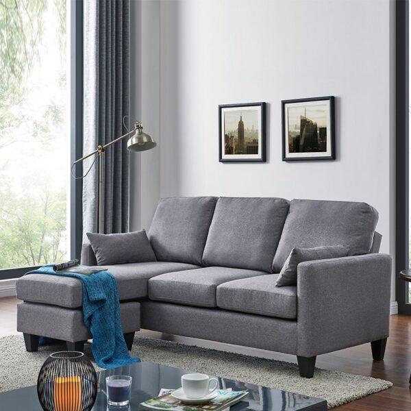 Sofá cama 3 plazas con chaise longue AH-AR40700 4