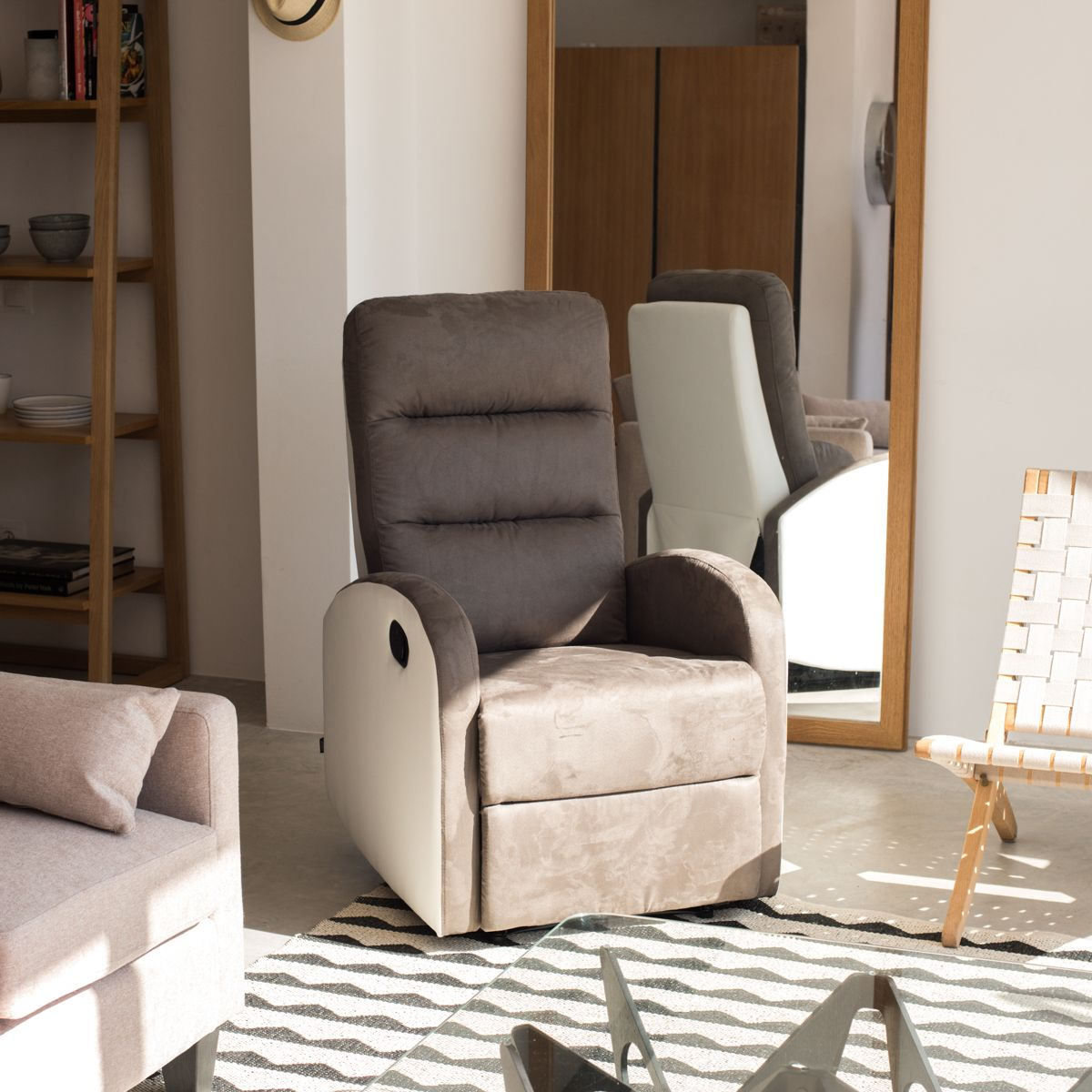 sillon relax reclinable ludwing salón